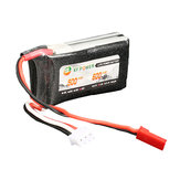 XF Power 7.4V 600mAh 2S 30C Lipo Battery JST Plug