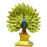Creative Peacock Ornament Resin Figurine Statue Craft Home Decorations Wedding Gift