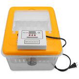 IncubadoraDigitalEletrônicade12Posições Hatcher de Torneamento Automático para ovos de aves de capoeira Ovo de pato de frango