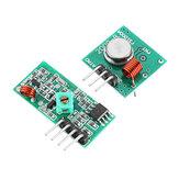 Kit de transmissor e receptor RF sem fio 5Pcs 433Mhz Geekcreit para Arduino - produtos que funcionam com placas Arduino oficiais