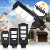 AUGIENB 30/60/90LED Solar Powered Streets Outdoor Remote Control Security Garden