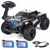 1/14 RTR Two Bateria 2.4G RWD 30km / h RC Car Vehicles Modelos High Speed Off-Road Truck Kid brinquedos infantis