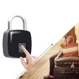 IPRee® P3 Anti-theft Smart Fingerprint Padlock USB Charging Outdoor Travel Suitcase Bag Safety Lock