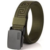 125CM Men Automatic Buckle Military Nylon Belt