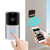 1080P HD Wireless Wifi Smart Doorbell Camera  PIR Bell Security Home + Chime
