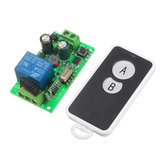 433mhz AC220V 1 Channel Wireless Remote Control Switch For Electric Lamp Household Intelligent Roof Lamp Power Supply
