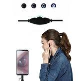 3'ü 1 arada USB ve Android ve Tip-c Borescope HD Görsel Temizlik Parçalar