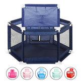 Box per bebè 2 in 1 a 6 lati con struttura a sfera Toddler Children Play Yardsfor Children Under 36 Mesi Tenda Pallacanestro Regali