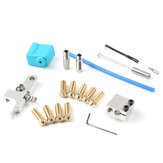 Nozzle Extruder Kit with Silicone Case thermistor Heating Tube Throat for Sidewinder X1/Genius 3D Printer