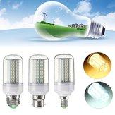 غير عكس الضوء 9 واط E27 e14 b22 4014 سمد ليد الذرة ضوء لمبة مصباح ac110v / 220 فولت