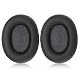 1 par de substituição fones de ouvido fones de ouvido almofadas de couro pu almofadas compatíveis com ATH ANC9 ANC27 ANC29