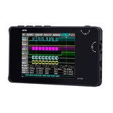 Mini DSO LA104 Digital Logic Analyzer 2.8 inch Screen 4 Channels Oscilloscope SPI IIC UART Programmable 100MHz Max Sampling Rate