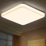 AC85V-265V 12W 24W Square LED Lustres de luz de teto Flush Mount Lamp para sala de estar em casa