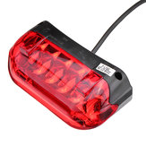 36V LED Tail Light Turn Signal Rear Lamp Modified Accessories For Scooter E-bike