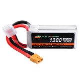 XF POWER 14.8 V 1300 mAh 100C / 200C 4S Lipo Bateria XT60 Plug para RC Corrida Drone