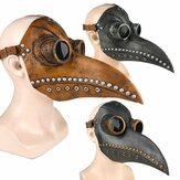 Halloween Cosplay Steampunk Plague Doctor Mascara Bird Props Props Retr Gothic Mascaras