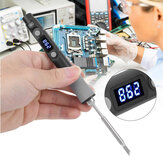 SQ-D60 60W Digital Soldering Iron Station DC12-24V Type-C Interface 100℃-400℃ Adjustable Temperature