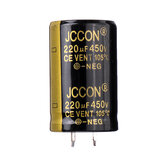 3Pcs 220UF 450V 22x40mm Radial Aluminium Electrolytic Capacitor High Frequency 105°C