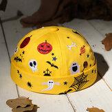 Banggood Design Homens Halloween Estilo Padrão Gorro Sem Aba Landlord Cap Caveira Boné