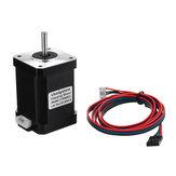 17HS6001S4-хпроводныйдвухфазныйгибридныйNema17 42-60mm 1.2A Stepping Мотор С 1M DuPont кабель для 3D-принтера CNC Part