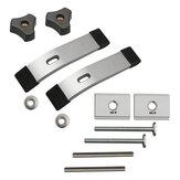 2Set M8 Conjunto de placa de pressão para fixar a placa DIY Carpintaria Ferramentas braçadeira