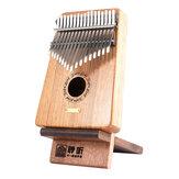Lingting hordozható Kalimba állvány hüvelykujj zongora kijelző állvány a Kalimba 17 Key Kalimba számára