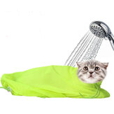 Pet Cat Cleaning Grooming Bag Add Hat Wielofunkcyjna wanna do paznokci Pick Ear Protect Bags