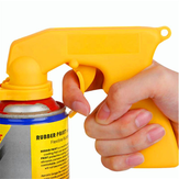 Spray Adapter Paint Care Aerosol Spray Gun Handle dengan Grip Full Pemicu Locking Collar Tools Kit