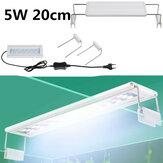 5W LED světlo na akvárium 20CM Akvarijní držák Clip Light Akvarijní osvětlení Rozšiřitelné světlo na vodní rostliny pro 20-30cm akvárium