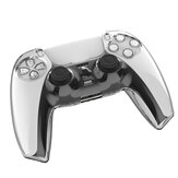 TPU Clear Shell Case Joystick Grip Cover Sleeve Voor Playstation 5 PS5 Controller