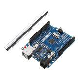 2 piezas UNO R3 ATmega328P placa de desarrollo sin cable Geekcreit para Arduino - productos que funcionan con placas oficiales Arduino