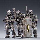 JOYTOY Action Figure Multi-joint Scale 1:18 Free Truism 20ST Legion  White viper Squad Figure New Toy for Collectible Toys