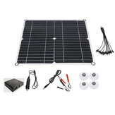 200W 12V Monocrystalline Solar Panel Charge Controller W/ Dual USB for Camping
