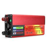 5000W Picos DC 12 / 24V para AC 110V Car Power Inverter Digital Modificado Sine Waves Converter