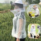 Anti-Bee Vêtements Cap Voile Respirant Demi Corps Apiculture Costume De Protection Outil Anti Bird Bird