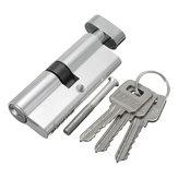 الألومنيوم سلامة المنزل قفل اسطوانة باب مجلس الوزراء قفل مع 3 مفاتيح 89 × 29MM