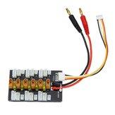 1S-3S XT30 LiPo-batterij Parallelle laadadapter Borduitbreidingskaart met gebalanceerde kabelstekker