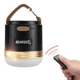 SUNREI CC3 Rechargeable Camping Lampe de secours Portable LED Lampe 9900mAh Power Bank