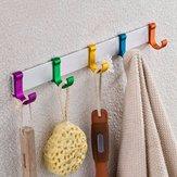 Alumimum baño gancho de soporte de cocina gancho de ropa de toallas