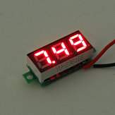 10 Stks Geekcreit® Rood Led 0.28 Inch 2.5 V-30 V Mini Digitale Volt Meter Voltage Tester Voltmeter