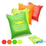 Honana WX-P8 Outdoor Travel impermeável travesseiro de ar inflável almofada almofada Praia Bolsa armazenamento organizador