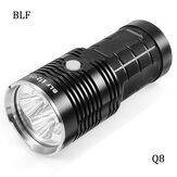 BLF Q8 4x XP-L 5000LM Professional Multiple Operation Procedure Super Bright LED lommelygte