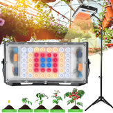 Grow Light with Stand LBW Full Spectrum 150W LED Floor Plant Light for Indoor Plants with On/Off Switch Flexible Gooseneck Adjustable Tripod Stand