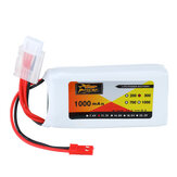 ZOP Power 11,1V 1000 mAh 3S 30C Lipo-Batterie JST Stecker