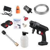 24V/48V 435PSI Cordless High Pressure Washer Portable Car Washing Machine Cleaner Water Spray Guns w/ 1/2 Battery