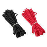 10m 2/3/4/5/6mm Heat Shrink Tube Tubing Black Red Color for Lipo Battery