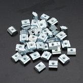 Machifit 50pcs 20M3 T Sliding Nut M3 Slot T Nut for 2020 Aluminum Profile