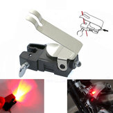 Mini Travel Wheel Spokes Bike Brake Light Mountain Road Bicycle Led Light Real Cycling Accessories