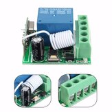 3pcs DC12V 10A 1CH 433MHz Wireless Relay RF Remote Control Switch Receiver Board