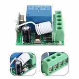 3 stücke DC12V 10A 1CH 433 MHz Wireless Relais RF Fernbedienung Schalter Empfängerplatine